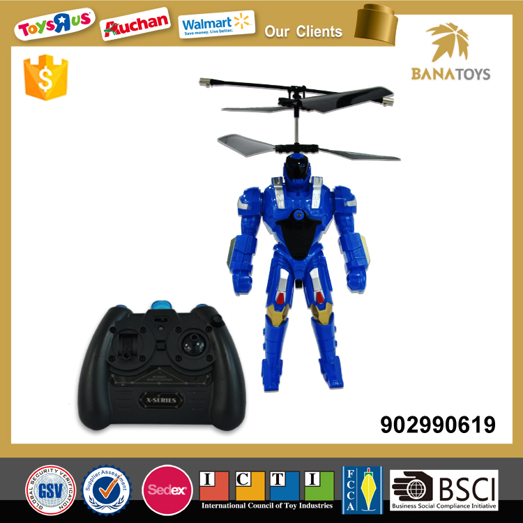 Free Shipping 360 degree battle rc flying toy robot