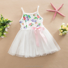 Cheap Children Casual Cotton TUTU Dress Summer Baby Girls New Puffy Dresses