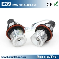 12v e39 rgb 5w Angel Eye Side LED Marker Car Head Lights Lamp For Wholesale