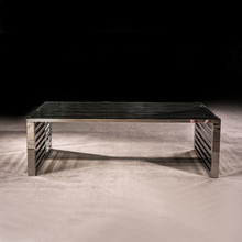 Modern Style Small 201 / 304 Stainless Steel Tea Table