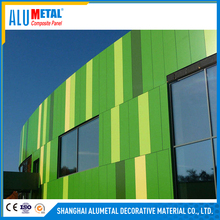 Building Material Decorative Fasade Wall Cladding Signage Board Aluminium Composite Panel