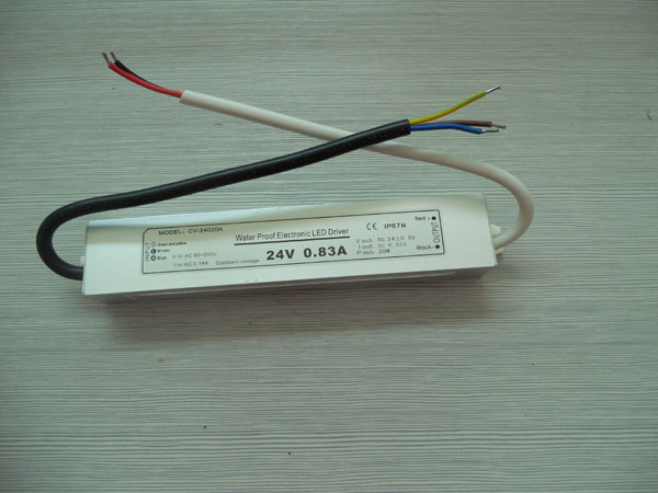 DC-DC waterproof led driver 20W