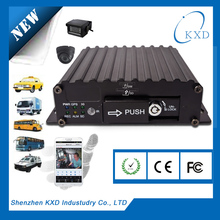 4 channel SD card CCTV mobile Digital Video Recorder for bus/taxi/police car