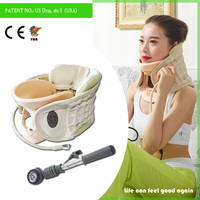 Cheapest drop shipping CE and FDA cetificates air neck traction device
