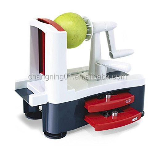 Hot Seller Multifunction Fruit Vegetable Spiralizer spiral slicer
