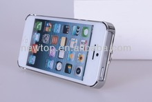 Cheap and good quality Aluminum Case for iPhone 4/5G Aluminum cover for Samsung pure colour factory supply