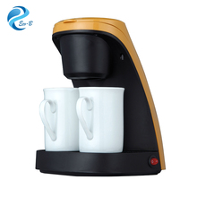 Wholesale 2017 latest office home 240ml 450W 2-Cup drip coffee maker
