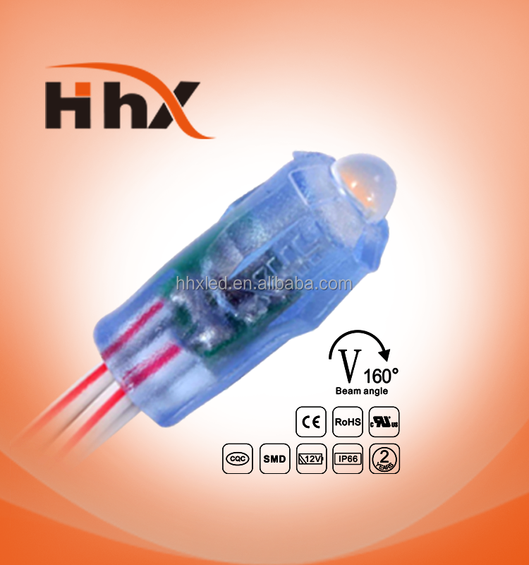 HHX good price 9mm led straw hat pixel 12v for letters