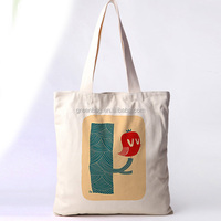 china wholesale new york cotton canvas bag