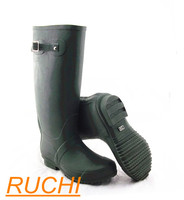 over knee waterproof rubber wellington boot