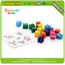 Novelty Custom Shaped Eraser Eraser Puzzle Toy For Kids