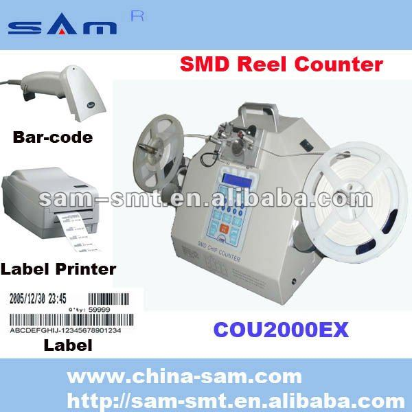 With printer and scanner leak detection SMD components counter