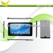 Zhixingsheng allwinner 1.5ghz 1GB RAM 4GB ROM dual core tablet pc,a13 mid tablet pc user manual ZXS-A20