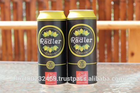 Lemon Lager Canned Beers 500ml