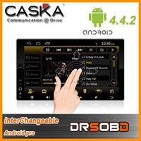 New cheap Android pro Solution 4.4.2 inchs universal car dvd player ca712 made in China