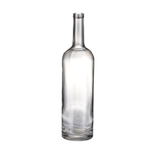 Custimized 1125ml classic clearly round wine glass bottles for sale