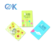 Hot selling the coloful pvc <strong>card</strong> CMYK printing different styles of pvc <strong>card</strong> with low price