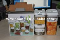 Airtight storage container 3pcs set, patent product container sets