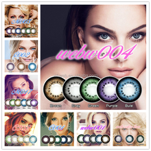 Different Rainbow Color Contact Lens And Fashion Design Colored Eye Contact Lenses
