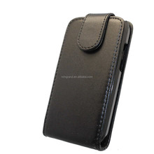 Black flip leather mobile phone case cover for Huawei Ascend Y210 U8685D cell phone pouch