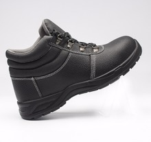 safety steel toe shoes/Leather safety work boots/work steel toe footwear
