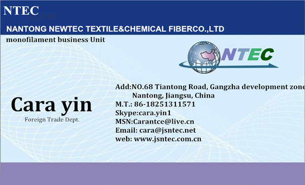 (630D-1890D) high tenacity nylon monofilament yarn/line