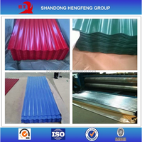 Prepainted Color Coated Galvanized Corrugated Roofing Metal Sheet