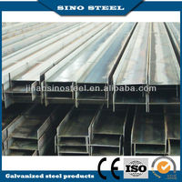 Big size 300*150 mm hot rolled galvanized steel H beam