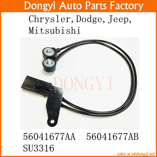 Knock Sensor 56041677AA 56041677AB SU3316 FOR Chrysler Dodge Jeep Mitsubishi