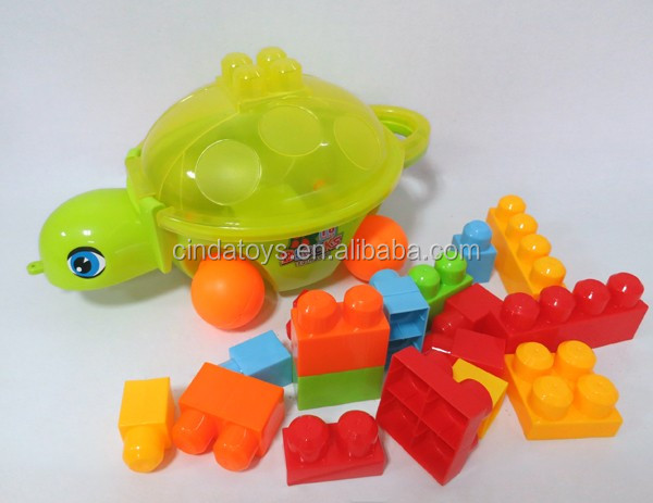 Good quality diy large toy plastic building blocks for kids Educational Toy big blocks