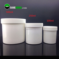 China Factory wholesale 100ml 250ml 500ml plastic cosmetic packaging jar
