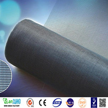 Anping Factory high quality and fairest price fly screen 16x18 black green fiberglass window screen mesh roll