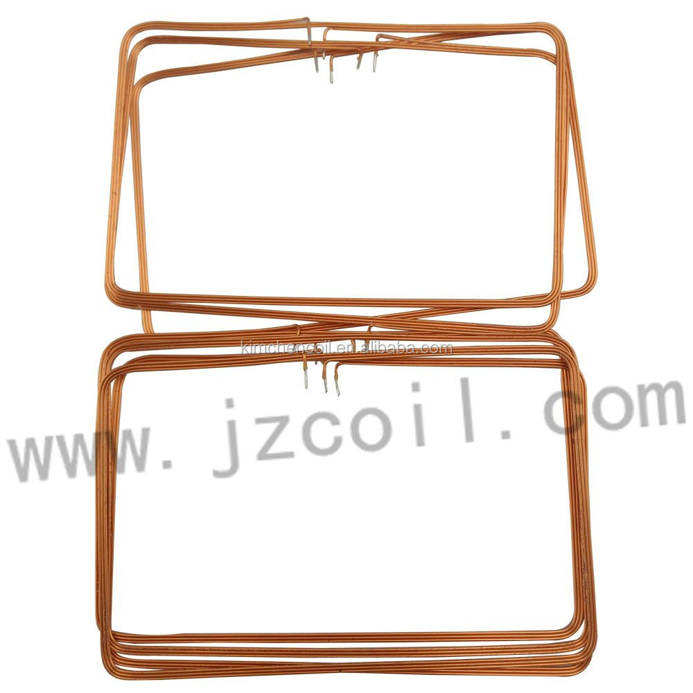 Flat Magnet Copper Wire 2.2mh Inductor Coils Ic Card Coil Supplier ...