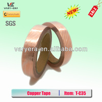 2PCS 50M Adhesive Copper Foil EMI Shield Tape Conductive 25mm Width