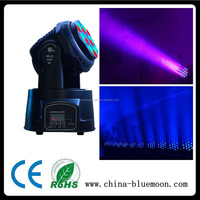 KTV/Bar/Party 12ch RGB 18pcs mini 3w led beam light