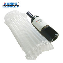 Air cushion bag filling packaging bottle protector bubble packing bag
