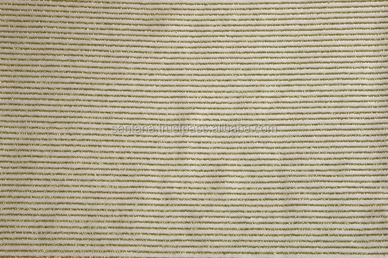 Stripe Shiny Pattern Jacquard Fabric