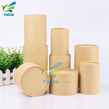 Professional supplier high-level paper cardboard round packaging cylinder box, kraft paper tube for cosmetic
