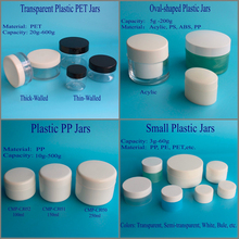 Most popular Plastic cosmetic jars from China workshop