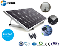 cheapest price 100watt monocrystalline solar panel from China supplier and manufacture commercial street light system