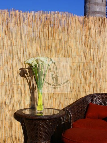 bamboo reed fencing mat for gardening