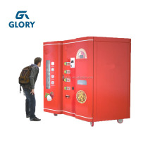Hot Selling Baking and Heating System Electric Automatic Let's Pizza Vending Machine