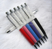 Promotional wholesale diamond pen metal rhinestone