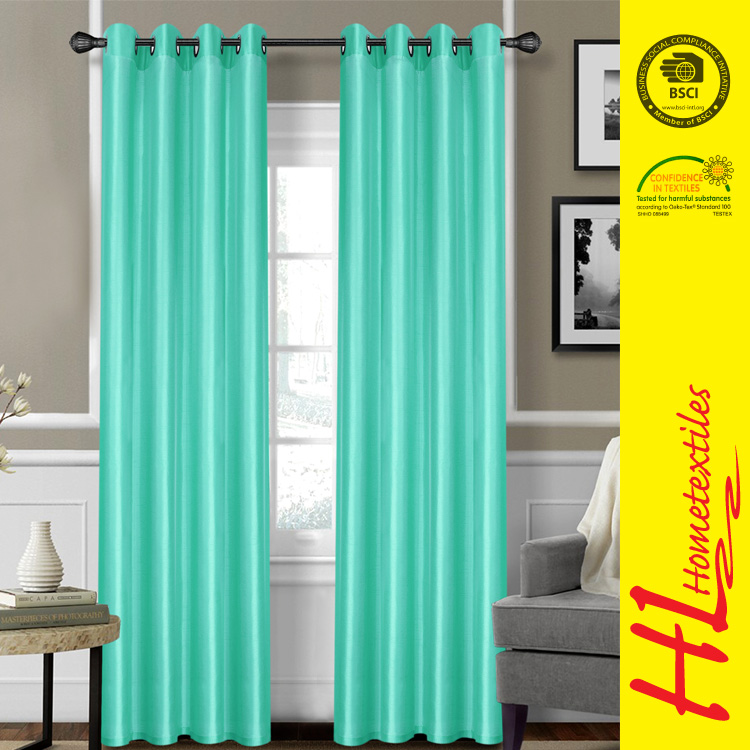 HLHT welcome ODM finished customized window curtains design