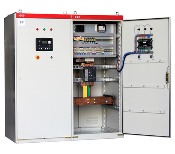 generator synchronizing panel with deep sea controller DSE8610