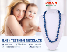 bead landing wholesale cool silicone teething necklaces for boys
