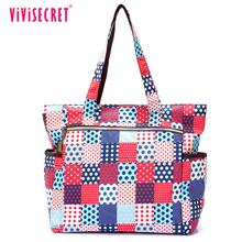 Custom printing branded sample mother bag designer nylon trendy baby bag mummy diaper bag for cheap