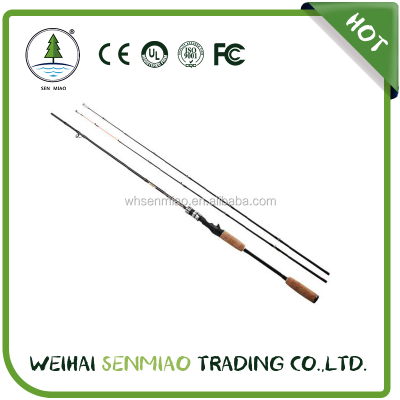 wholesale high quality cheap price lure fishing rods glass/carbon spinning or casting lure rod