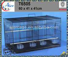 decorative bird cage wire canaries birds breeding with four feeders