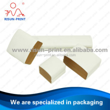 Jewelry packaging box white printing / paper jewelry box / jewelry gift paper packaging box